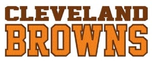 cleveland embroidery - browns