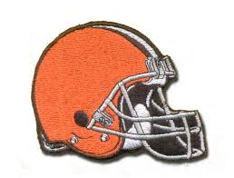 cleveland embroidery - browns helmet