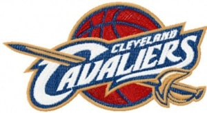 cleveland embroidery - cavaliers