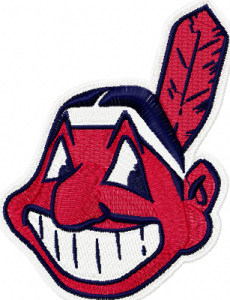 cleveland embroidery - indians