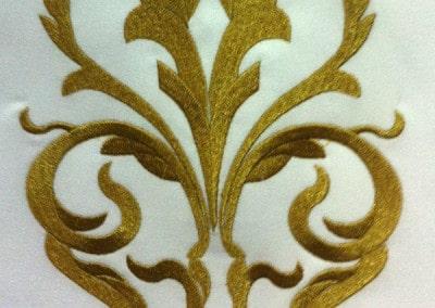Gold Stitching