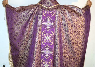 Clergy Vestments Purple