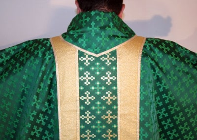 Clergy Vestments Green and Gold